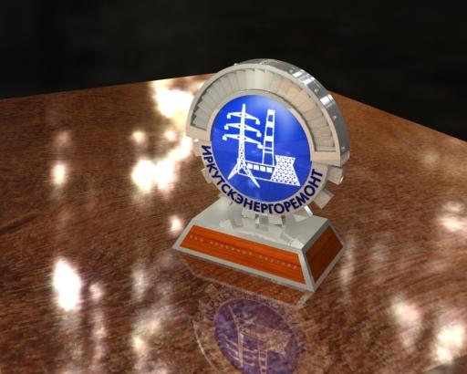 Часы-сувенир для ЗАО «Иркутскэнергоремонт»